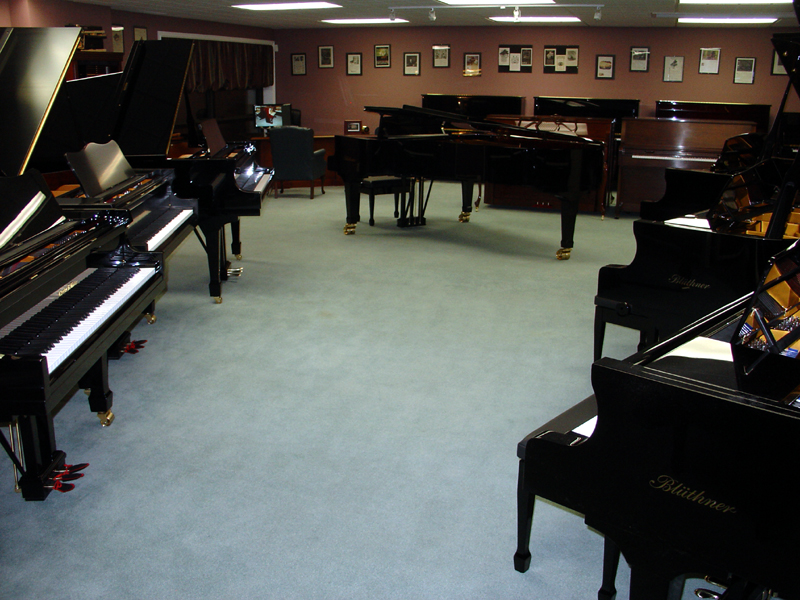 Vancouver piano showroom